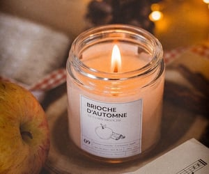 autumn, candle, and aesthetic image