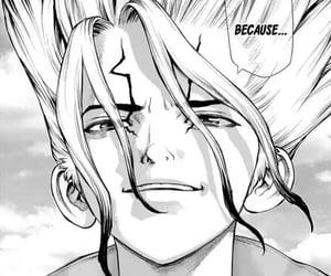 manga, dr stone, and senku image
