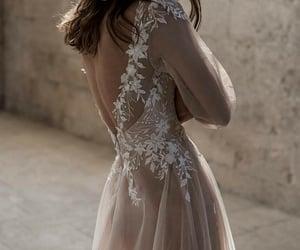 blush, bride, and love image