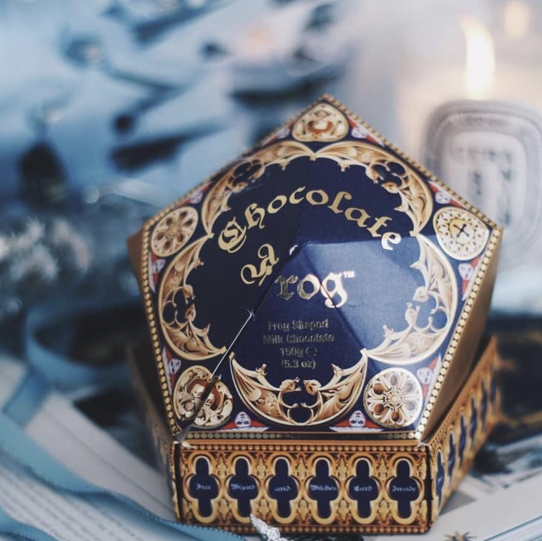 harry potter, magic, and chocolate image