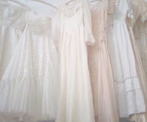 dress, pastel, and vintage image