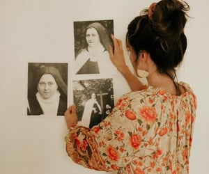 art, catholicism, and girl image