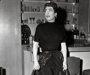 1955, joan crawford, and 1950's style image