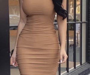 body, brown, and curves image