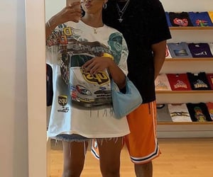 couple, outfit, and Relationship image