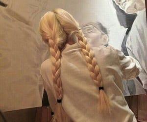 girl, woman, and hair image