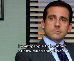 love, quotes, and the office image