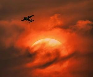 aeroplane, aesthetic, and art image