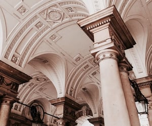 arch, architecture, and ceiling image