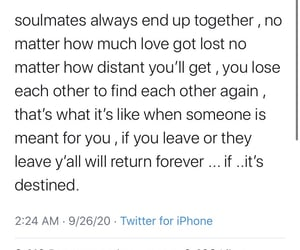 couples, relationships, and soulmates image
