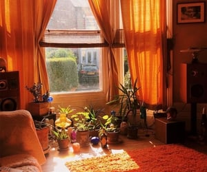 70s, aesthetic, and living room image