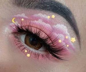 eye makeup, beautiful eyes, and eye image