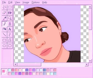 computer, paint, and pink image