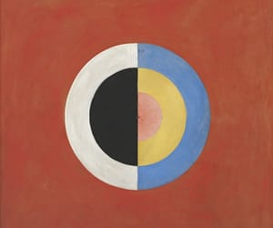 abstract art and hilma af klint image