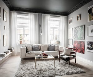 design, apartment, and grey image