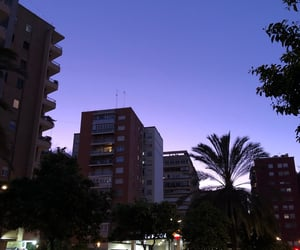 city, lights, and nightfall image