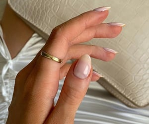 fashion, hand, and ring image