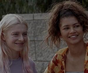 euphoria, zendaya, and girls image