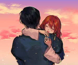 anime, manga, and red hair image