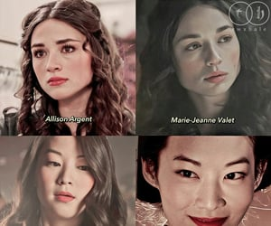 tw, arden cho, and crystal reed image