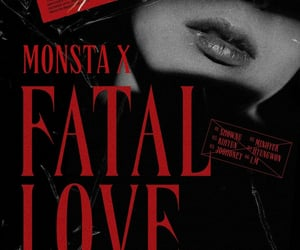 minhyuk, hyungwon, and fatal love image