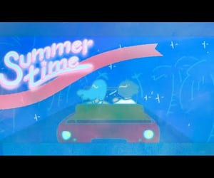 summer time, summertime, and video image
