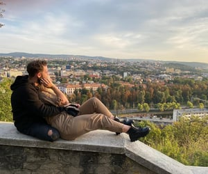 boy, couples, and explore image