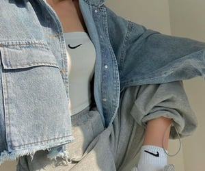 beautiful, cool, and denim jacket image