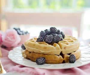 berries, blackberries, and food image