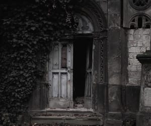 aesthetic, architecture, and dark image