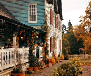 aesthetic, autumn, and home image