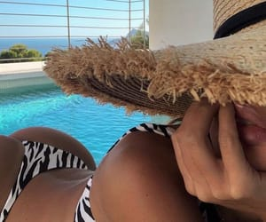 bikini, chill, and fashion image
