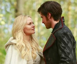 hook, emma swan, and captain swan image