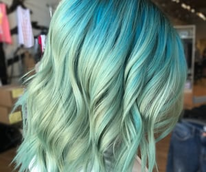 color, hair color, and hair dye image