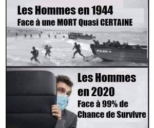 2020, francais, and hommes image