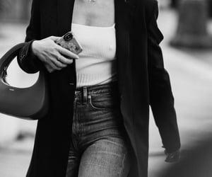 blazer, jeans, and womenswear image