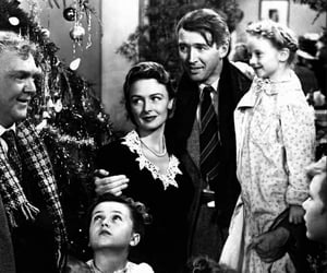 james stewart, movie, and it's a wonderful life image