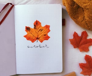 october, ottobre, and bujo image