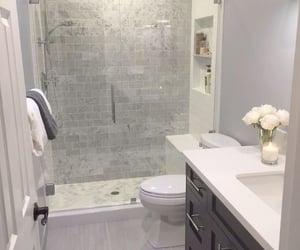 apartment, Dream, and bathroom image