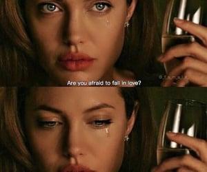 Angelina Jolie, movie, and sad image