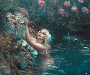 aesthetic, aquarius, and mermaid image