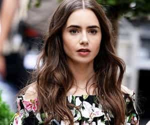 article, serie, and lilly collins image