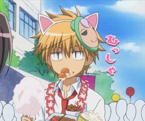 anime, maid sama, and usui image