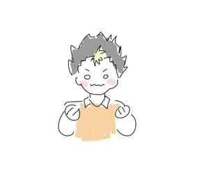 doodle, haikyuu, and anime image