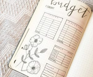 tracker, bujo, and bullet journal image
