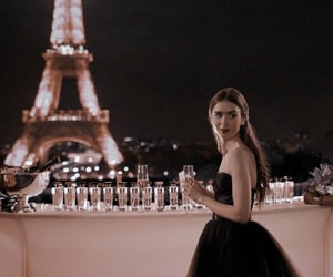 lily collins, beautiful, and paris image