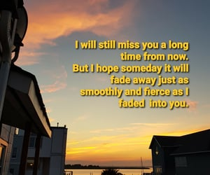 missing you, summertime sadness, and quotes image