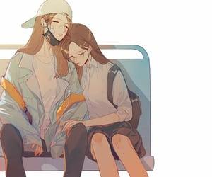 anime, art, and yuri image