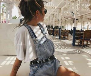 holiday, shorts, and tattoo image