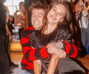 couple, jesse rutherford, and devon carlson image